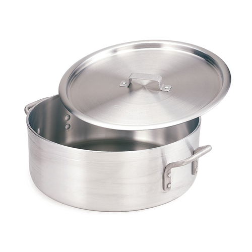 Extra Heavy Weight Aluminum Brazier with Cover