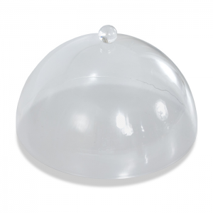 Clear acrylic domed cake cover